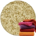 Abyss & Habidecor Super Pile Terry Cloth Guest Towel/Washcloth, 30 x 30 cm, 100% Egyptian Giza 70 Cotton, 700g/m², 770 Linen