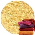 Abyss & Habidecor Super Pile Frottee-Gästetuch/Waschlappen, 30 x 30 cm, 100% ägyptische Giza 70 Baumwolle, 700g/m², 803 Popcorn