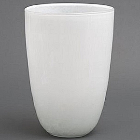 DutZ®-Collection Vase Anton, H 55 x Ø 35 cm, Weiß