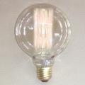 Edgar Design Edison-Lightbulb, LED, spherical, E27/40W, h 13 x Ø 9.5 cm