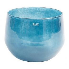 DutZ®-Collection Glasschale, H 24 x Ø 32 cm, Navy Blau