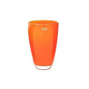 Collection DutZ ®  Vase, h 26 cm x Ø 16 cm, orange