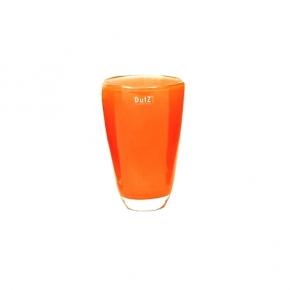 Collection DutZ ®  Vase, h 21 cm x Ø 13 cm, orange