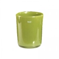 Collection DutZ ®  vase Conic, h 23 x Ø 20 cm, Colori: vert