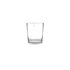 Collection DutZ ®  vase Conic, h 11 x Ø 9.5 cm, Colori: transparent