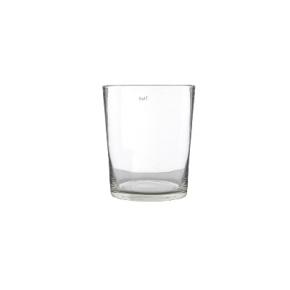DutZ®-Collection Vase Conic, h 14  x  Ø.12 cm, colour: clear