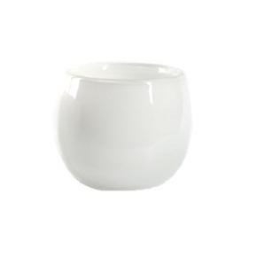 Collection DutZ ® vase/récipient Pot, h 18 x Ø 20 cm, Colori: blanc
