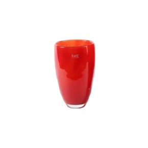 Collection DutZ ®  Vase, h 26 cm x Ø 16 cm, Colori: rouge