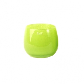DutZ®-Collection Vase Pot, h 14 x Ø 16 cm, colour: lime