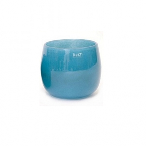 DutZ®-Collection Vase Pot, H 14 x Ø 16 cm, Farbe: Blau Petrol
