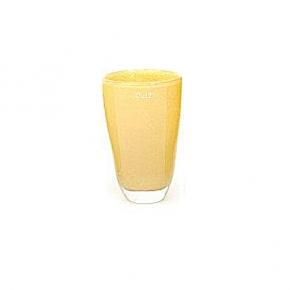 Collection DutZ ®  Vase, h 21 cm x Ø 13 cm, curry