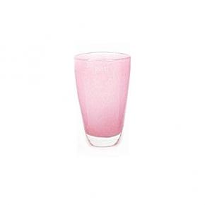 Collection DutZ ®  Vase, h 21 cm x Ø 13 cm, fuchsia