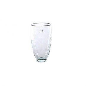 DutZ®-Collection Flower Vase, h 21 x Ø 13 cm, clear
