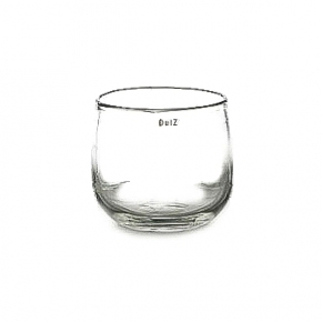 DutZ®-Collection Vase Pot, h 14 x Ø 16 cm, clear