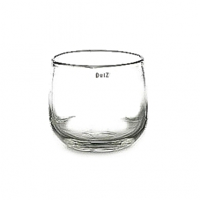 Collection DutZ ® vase/récipient Pot, h 18 x Ø 20 cm, transparent