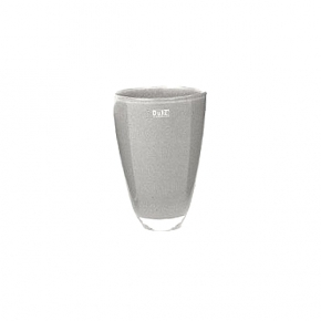 DutZ®-Collection Flower Vase, h 21 x Ø 13 cm, medium grey