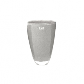 DutZ®-Collection Flower Vase, h 26 x Ø 16 cm, medium grey