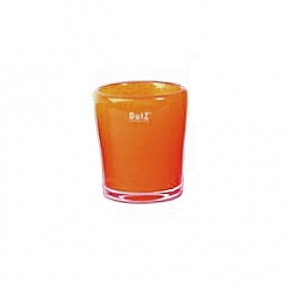 DutZ®-Collection Vase Conic, H 14  x  Ø 12 cm, red orange