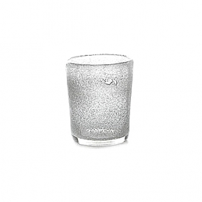 Collection DutZ ®  vase Conic avec des bulles, h 17 x Ø 15 cm, transparent