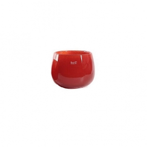 DutZ®-Collection Vase Pot Mini, h 7 x Ø 10 cm, red