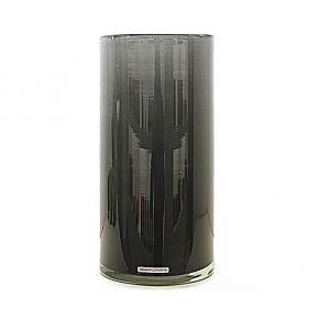 Henry Dean Vase/Windlicht Cylinder, H 30 x Ø 15 cm, Grey