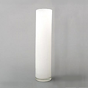 DutZ®-Collection Vase Cylinder, h 40 x Ø 9 cm, white