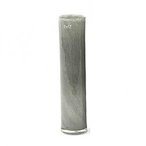 DutZ®-Collection Vase Cylinder, H 40 x Ø 9 cm, Mittelgrau