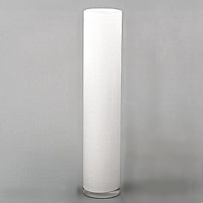 DutZ®-Collection Vase Cylinder, h 50 x Ø 10 cm, white