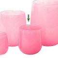 DutZ®-Collection Vase Barrel, h 18 x Ø 14 cm, fuchsia