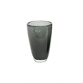 Collection DutZ ® Vase, h 21 cm x Ø 13 cm, cendreuse