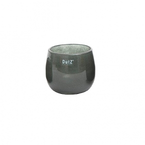 Collection DutZ ® vase/récipient Pot, h 11 x Ø 13 cm, cendreuse